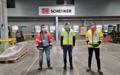 DB Schenker terminal in Finland has been chosen as a pilot site for Baltic Loop research