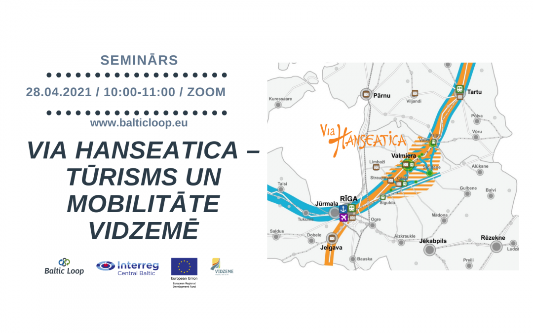 The Via Hanseatica Tourism and Transport Corridor Development Vision 2030 was presented to the industry