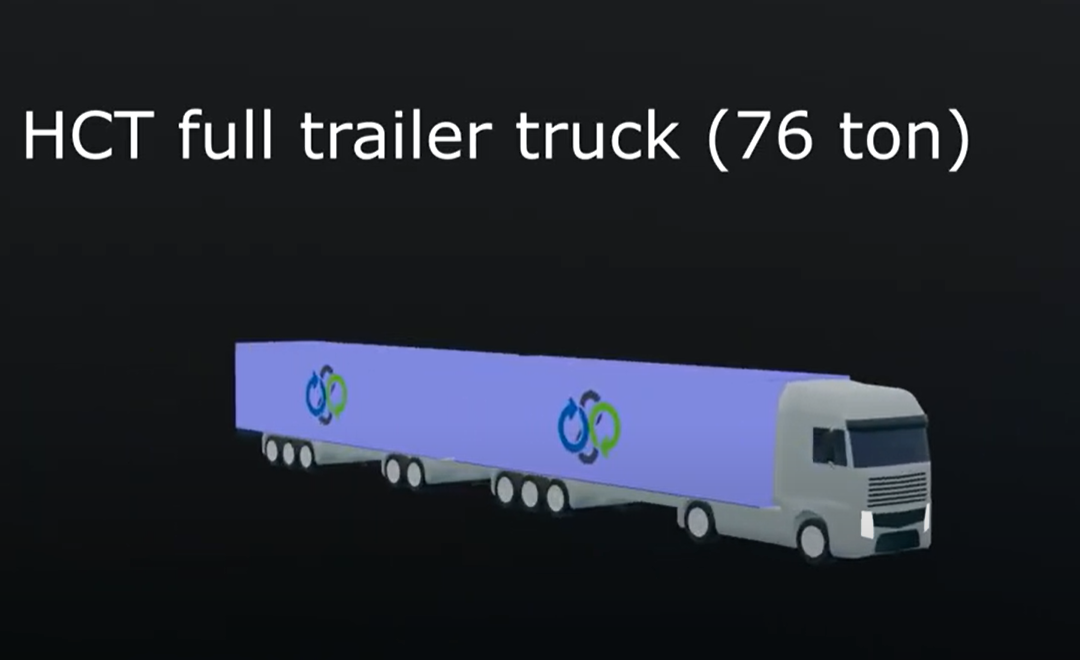 Learn about the E18 road bottlenecks in animated format